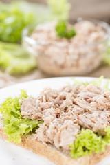 Fresh made Tuna salad sandwich