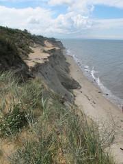 Das Hohe Ufer - Steilküste bei Ahrenshoop, Ostsee