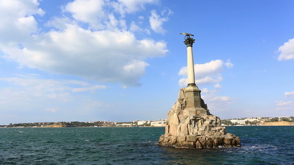 Monument to the flooded ships in Sevastopol, Crime