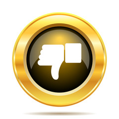 Thumb down icon