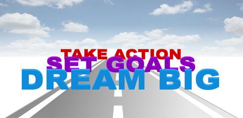 dream goals action