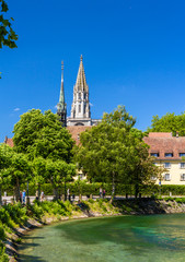 View of Konstanz Cathedral in Germany