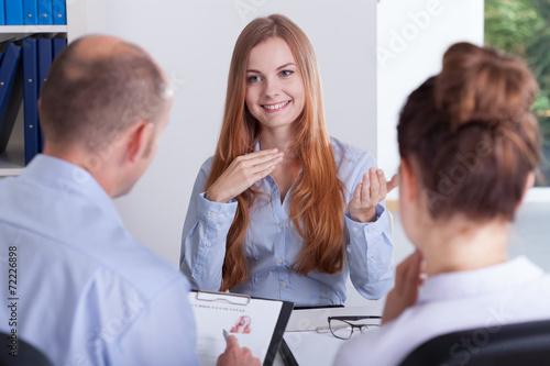 Job interview - 72226898