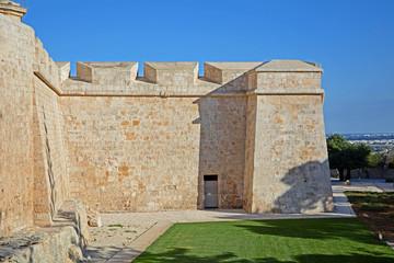 Festungsmauer von Mdina, Malta