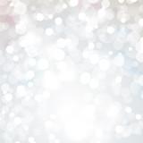 Fototapety Lights On Silver Background - Vector Illustration