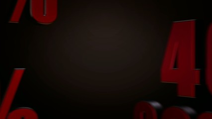 Black Friday Sale 3D Looping Animation