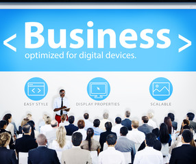 Business People Conference Presentation Concept