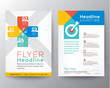 Zdjęcia na płótnie, fototapety, obrazy : Brochure Flyer graphic design Layout vector template