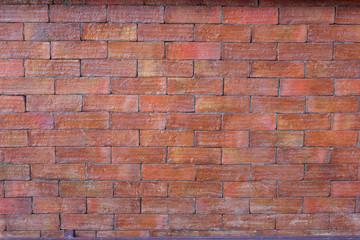Grunge red brick texture