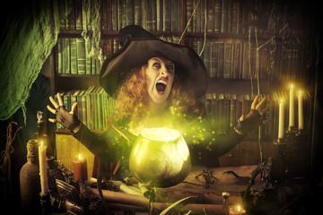 witch pot