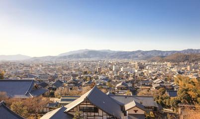City view of Kyoto village