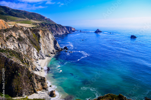 Foto op Canvas Landschappen california coast