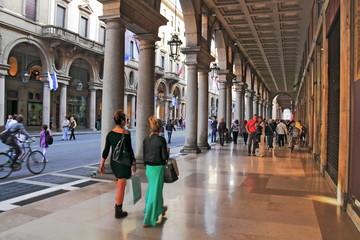 Arkaden in Turin
