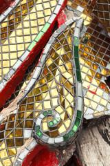 Tiles decoration,architecture details