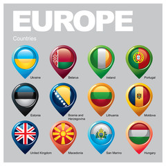 EUROPE Countries - Part Six