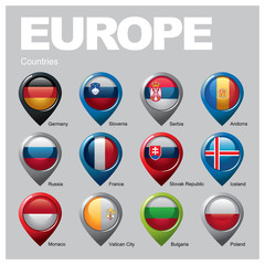 EUROPE Countries - Part Five