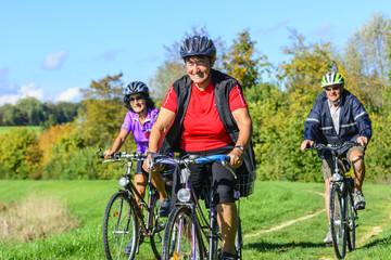 Senioren-Radtour im goldenen Herbst