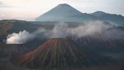 Mount Bromo volcanoes in Indonrsia,Java