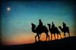 Three Kings Desert Star of Bethlehem Nativity - 72239481