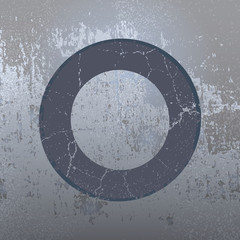 Grunge background with ring