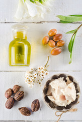 Argan and shea nut