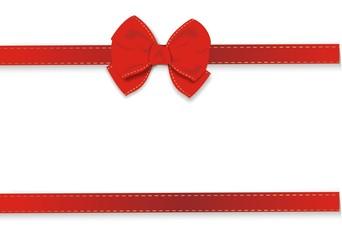 Geschenkband in rot