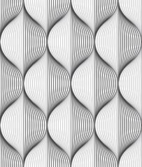 Seamless ripple pattern