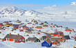 Colorful houses in Greenland - 72242430