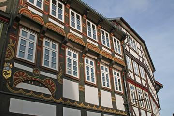 Einbeck: Typische Fachwerkhäuser (Niedersachsen)