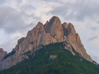 Cima Dodici mounts at sunset, Dolomites