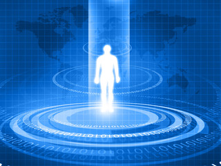 Human body analyzed with new technology