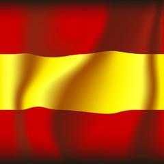 espanol / spanish flag illustration