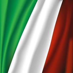 italy flag illustration
