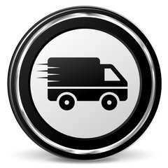 delivery metal icon