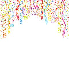 Streamer & Confetti Color