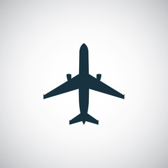 airplane icon.