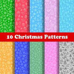 10 Christmas Patern