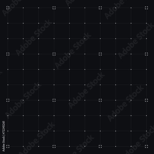 HUD interface with Grid. Vector - 72245261