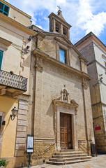 Church of St. Michele. Altamura. Puglia. Italy.