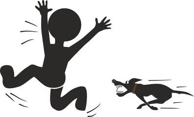 Побег от собаки