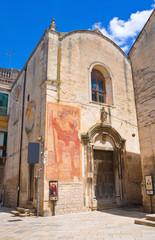 Church of St. Biagio. Altamura. Puglia. Italy.