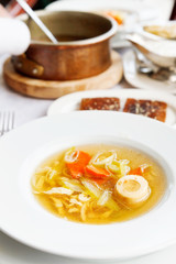 tafelspitz from boiled beef broth