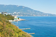 view of Yalta from Livadia district, Crimea