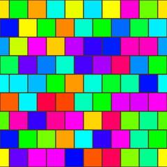 Rainbow tiles seamless texture