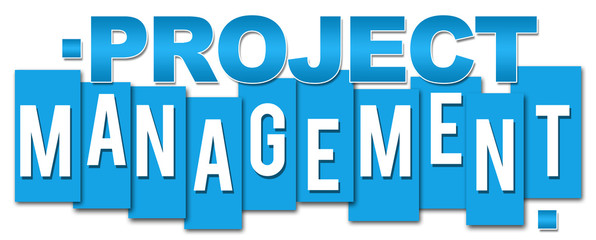 Project Managemetn Blue Stripes