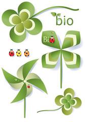Eco Bio Elements  Symbols
