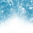 canvas print picture - Winter Hintergrund