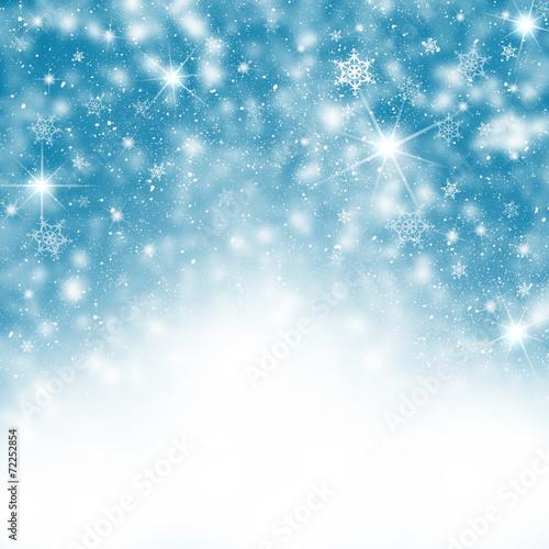 canvas print picture Winter Hintergrund