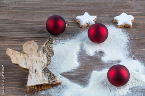 canvas print picture Weihnachtsengel