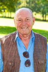 Portrait eines älteren Mannes
